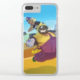 The Junkboys Take the Mushroom Kingdom Clear iPhone Case
