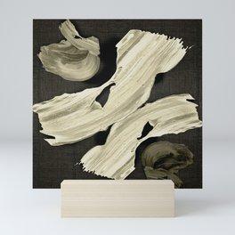 """Scandinavian Japanese Abstract"" Mini Art Print"