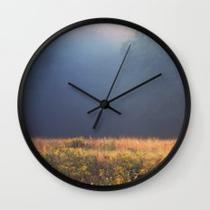 Mother Nature's Palette Wall Clock