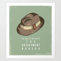 The Adjustment Bureau - Movie Poster Art Print