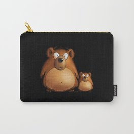 Two Bears Carry-All Pouch