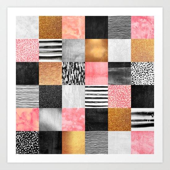Sweet Quilt Art Print