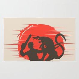 Ash vs Aliens Rug