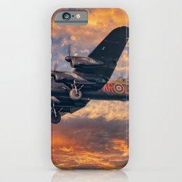 Lancaster Bomber iPhone Case