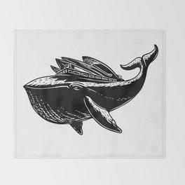 Ocean Hauler Throw Blanket