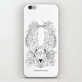 Bluebell (Lineart) iPhone Skin