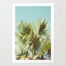 Beach Getaway - Modern Beach Decor Art Print