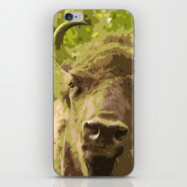 Bull #decor #buyart #society6 iPhone Skin