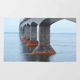 Under the Bridge in PEI Rug
