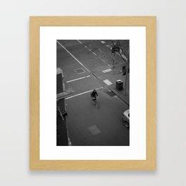 See you in ten minutes. (Queen Street, 2011) Framed Art Print