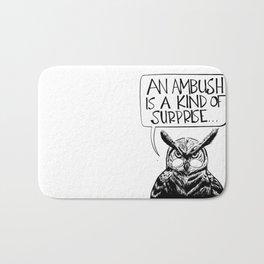 Said Owl Bath Mat