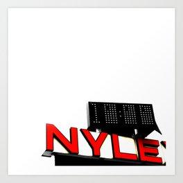 Nylex Art Print
