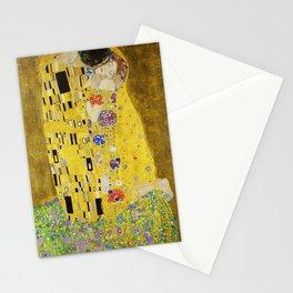 The Kiss, Gustav Klimt Stationery Cards