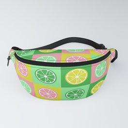 Pastel lemon colorful pop-art Fanny Pack