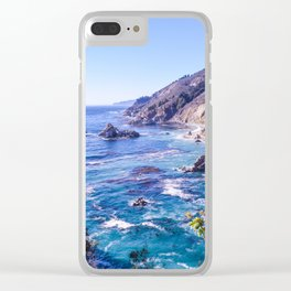 California Dreamin - Big Sur Clear iPhone Case