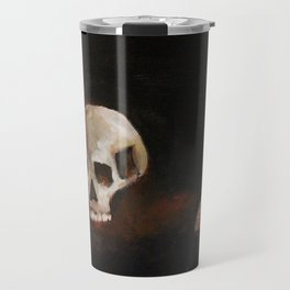 death, and the inevitable passage of time Travel Mug