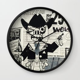 just 25 cents Wall Clock