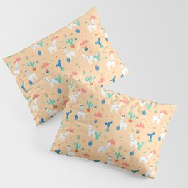 Summer Llamas Pillow Sham