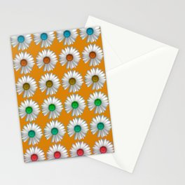 Photographic Daisy Pattern Brights Stationery Cards