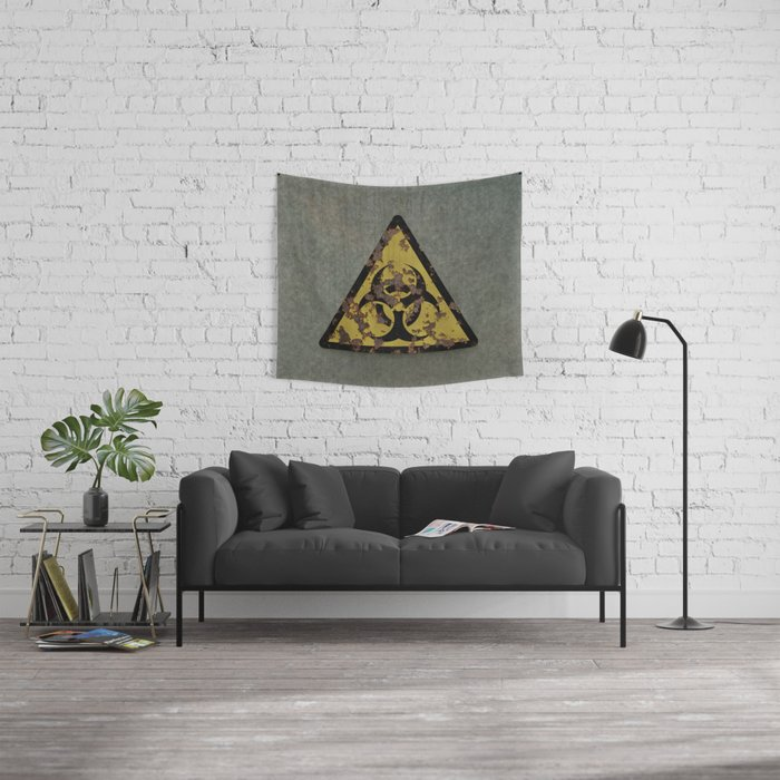 Biohazard Wall Tapestry
