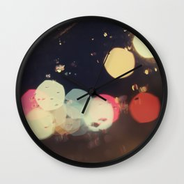 Bokehland Wall Clock