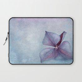 BLUE HYDRANGEA PETAL Laptop Sleeve