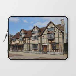 William Shakespeare's Birthplace Laptop Sleeve
