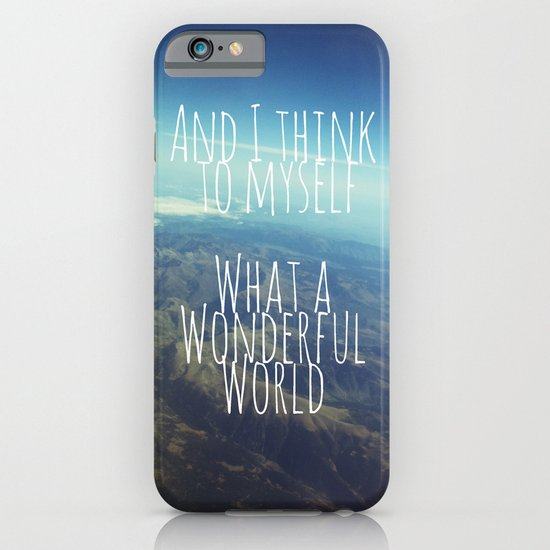 And I Think To Myself... iPhone & iPod Case
