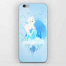 Save Polar Bear! iPhone Skin