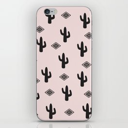 Blush Urban Cactus iPhone Skin