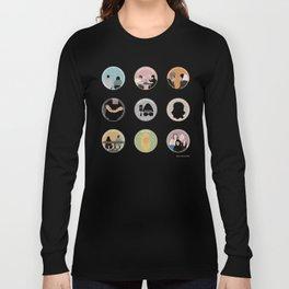 SANA BAKKOUSH: A MINIMALIST STORY Long Sleeve T-shirt