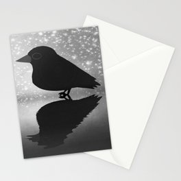 Crow-82 Stationery Cards