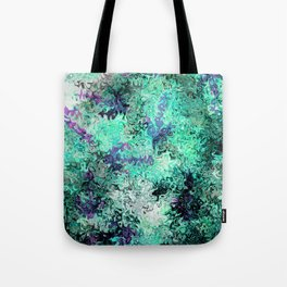 So Undecided, Abstract Art Swirls Pattern Tote Bag