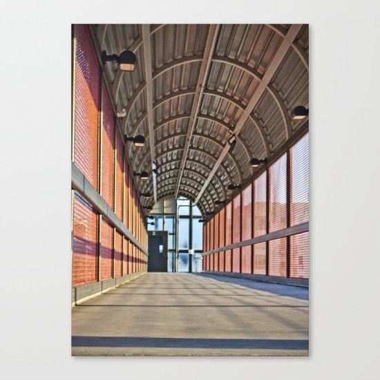 The Walk Way Canvas Print