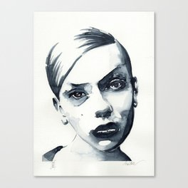 B*** Canvas Print