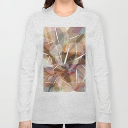 Abstract graphic design Long Sleeve T-shirt