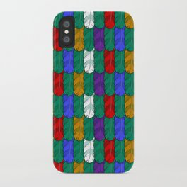 Feathers Pattern iPhone Case