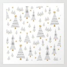 Jolly Forest Art Print