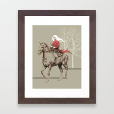 On the Prowl Framed Art Print