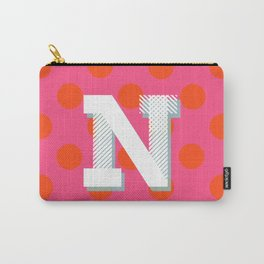 N is for Nice Carry-All Pouch