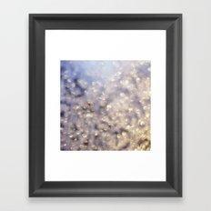 Winter Aglow Framed Art Print