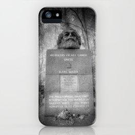 Karl Marx Memorial iPhone Case