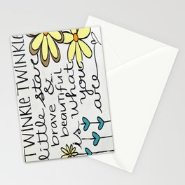 Twinkle Twinkle Stationery Cards
