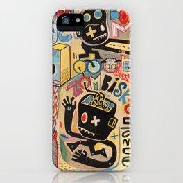 Zombiska dance  iPhone Case
