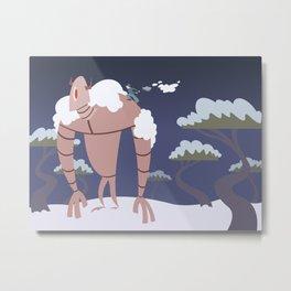 Robot Routine Metal Print