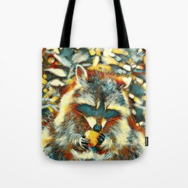 AnimalArt_Raccoon_20170901_by_JAMColorsSpecial Tote Bag