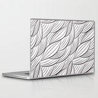 sansa stark Laptop & iPad Skins featuring Stark Waves by SonyaDeHart