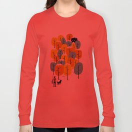 Searching for the monster Long Sleeve T-shirt