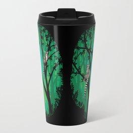 Lemurs in the Forest Travel Mug
