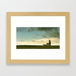 The Brough of Birsay Light Framed Art Print